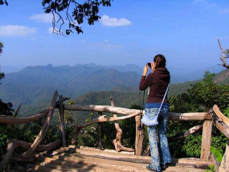 Горы на севере Таиланда