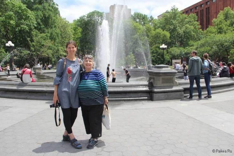 Достопримечательности Нью-Йорка что посмотреть площадь с фонтаном
