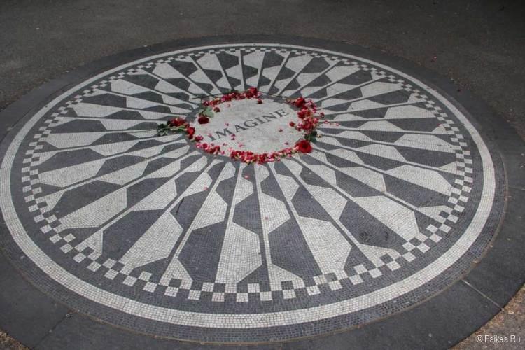 Достопримечательности Нью-Йорка что посмотреть Джон Леннон
