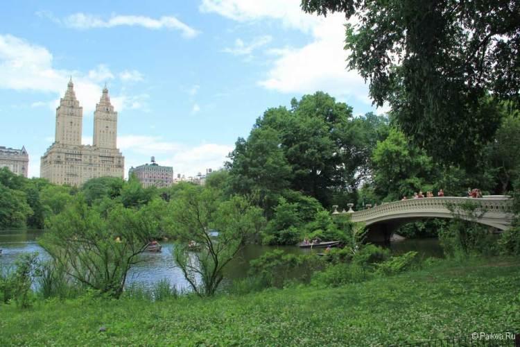 Достопримечательности Нью-Йорка что посмотреть Центральный парк