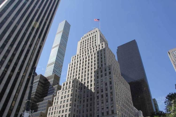 Нью-Йорк небоскребы