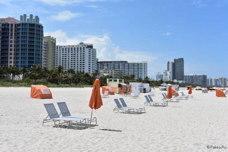 Майами бич пляж