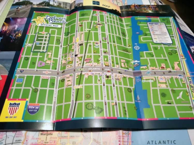 карта делрей бич