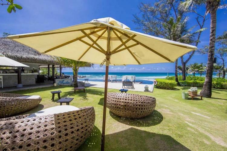 Отели Пхукета с собственным пляжем на первой линии