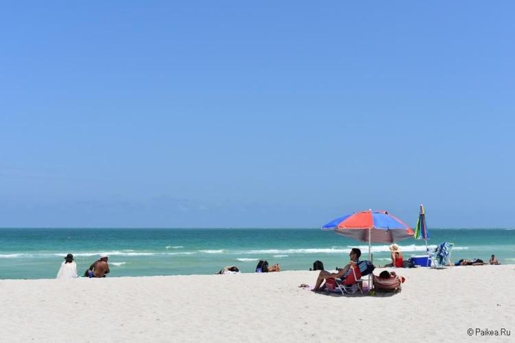 Достопримечательности Флориды пляжи
