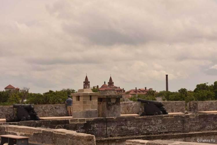 Крепость в Сент-Огастине