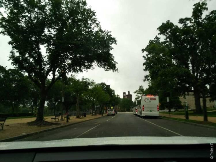 Вашингтон парки и скверы