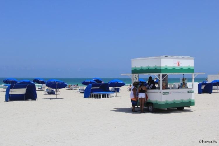 пляж во флориде