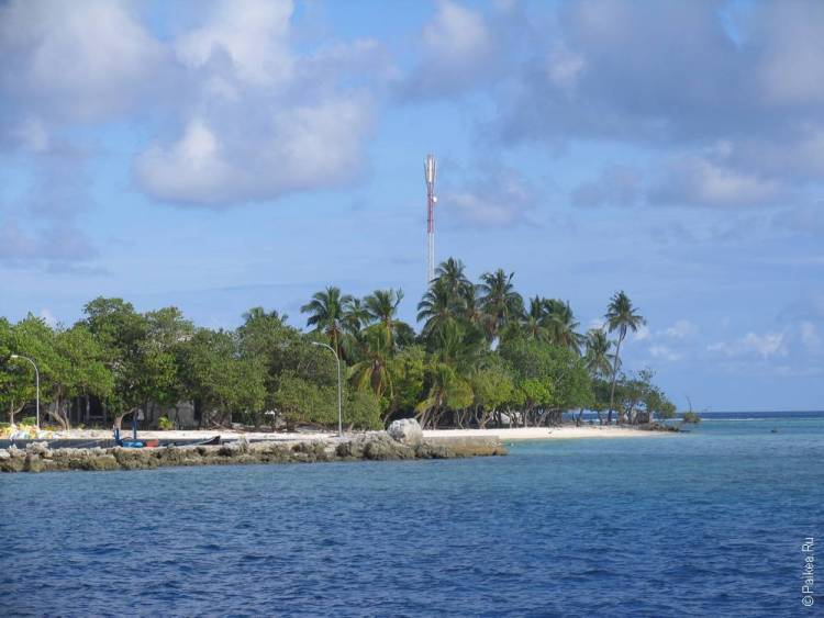 мальдивы локальный остров