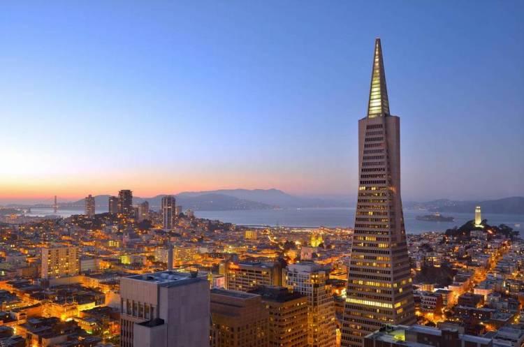 Сан-Франциско небоскреб Трансамерика