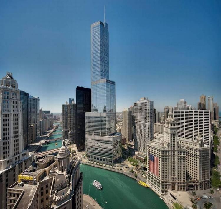 Город небоскребов Чикаго
