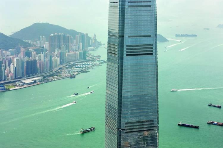 Самый высокий отель Гонконга - Ritz-Carlton