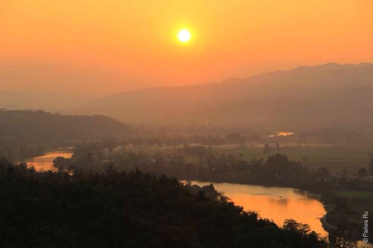 Инге Саргент Сумерки над Бирмой