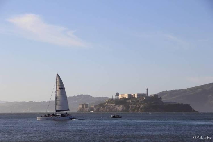 Достопримечательности Сан-Франциско тюрьма Алькатрас