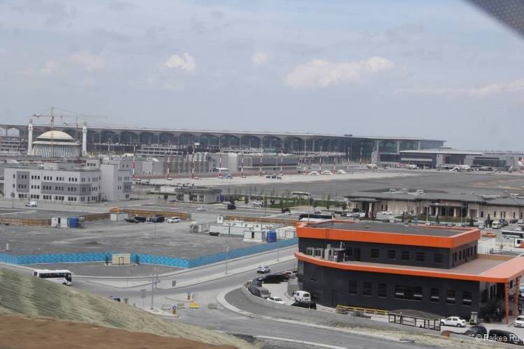 Новый аэропорт Стамбула фото