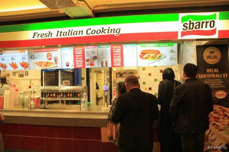 Бесплатное питание в аэропорту Стамбула для транзитных пассажиров