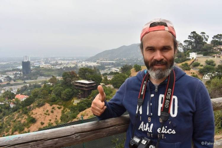 Поездка в Лос-Анджелес самостоятельно Малхолланд Драйв