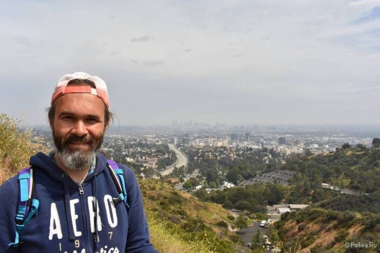 Поездка в Лос-Анджелес самостоятельно вид на город