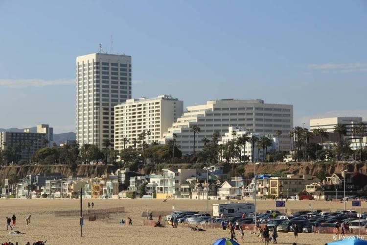Поездка в Лос-Анджелес самостоятельно санта моника