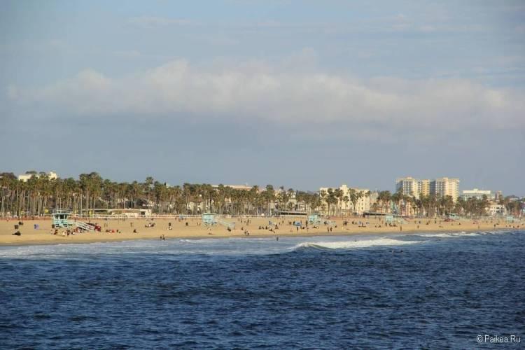 Поездка в Лос-Анджелес самостоятельно пляж венис