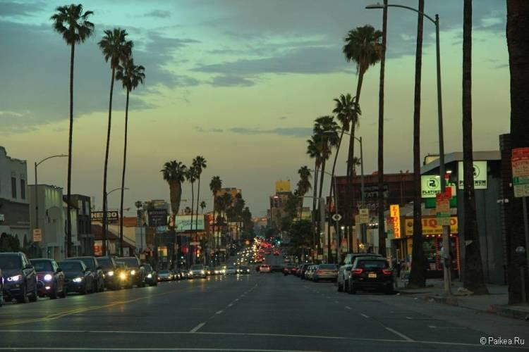 Лос-Анджелес бульвар сансет