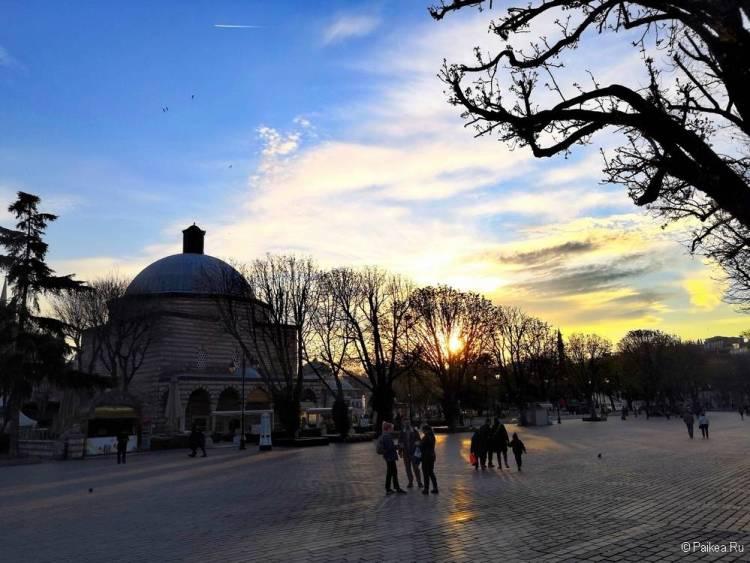 Поездка в Стамбул площадь Султанахмет