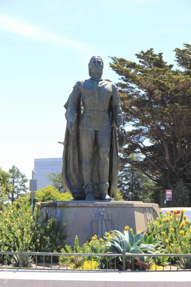 Памятник Колумбу в Сан-Франциско