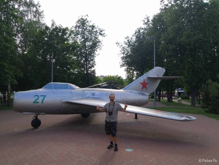 Истребитель Ил-15 в Витебске