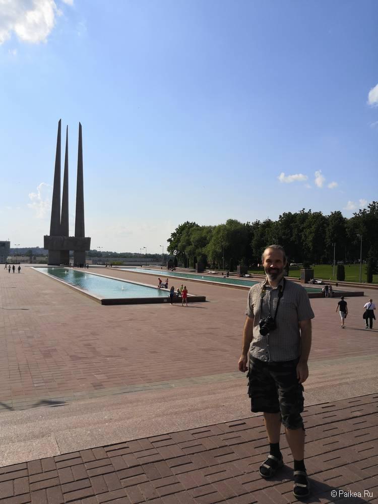 Мемориал Три Штыка в Витебске