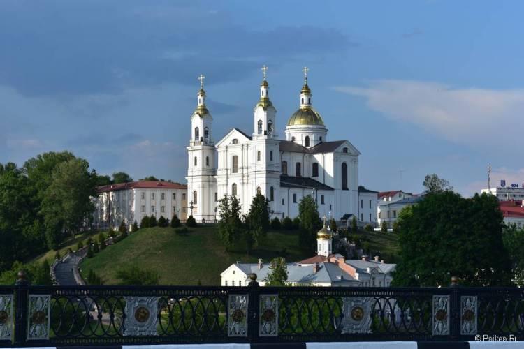 Поездка в Витебск - Успенский собор