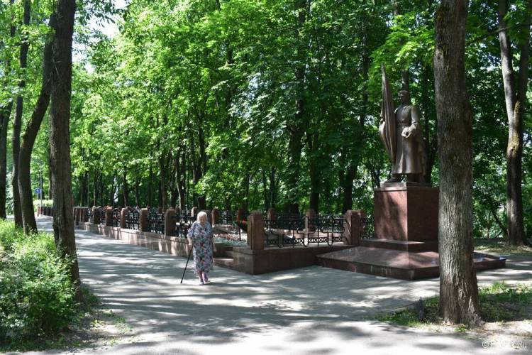Витебск Сквер героев Отечественной войны