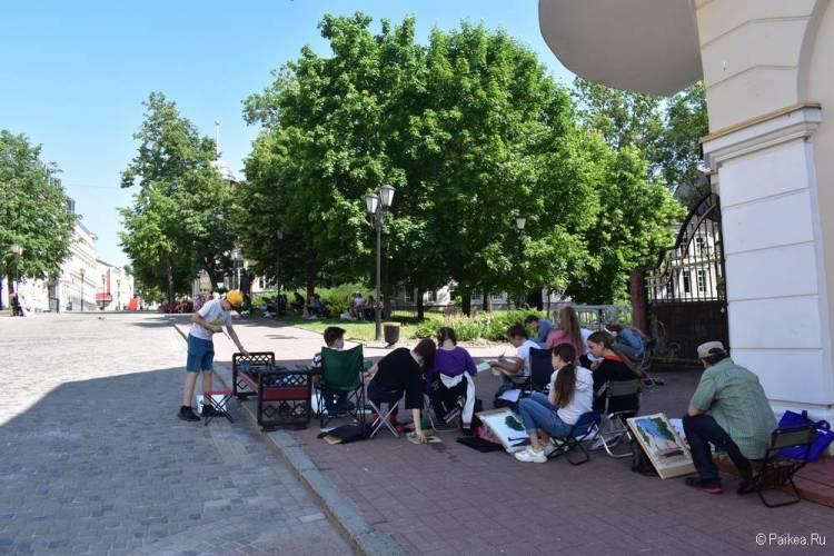 Молодые художники в Витебске