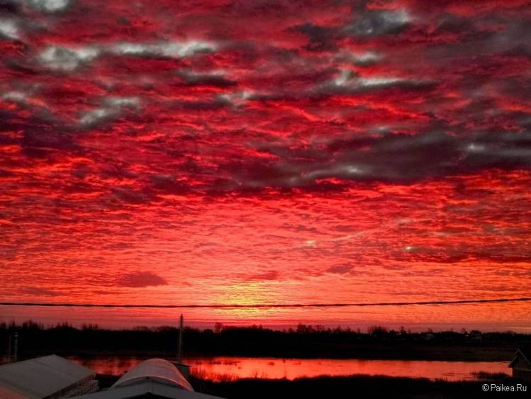 Самые красивые закаты и рассветы мира 85