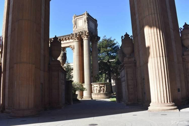 Дворец изящных искусств в Сан-Франциско 12