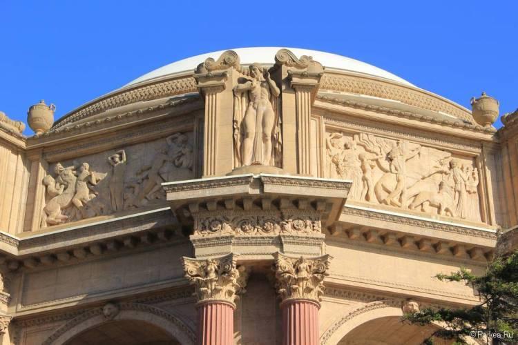Дворец изящных искусств в Сан-Франциско 26
