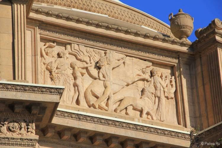 Дворец изящных искусств в Сан-Франциско 27