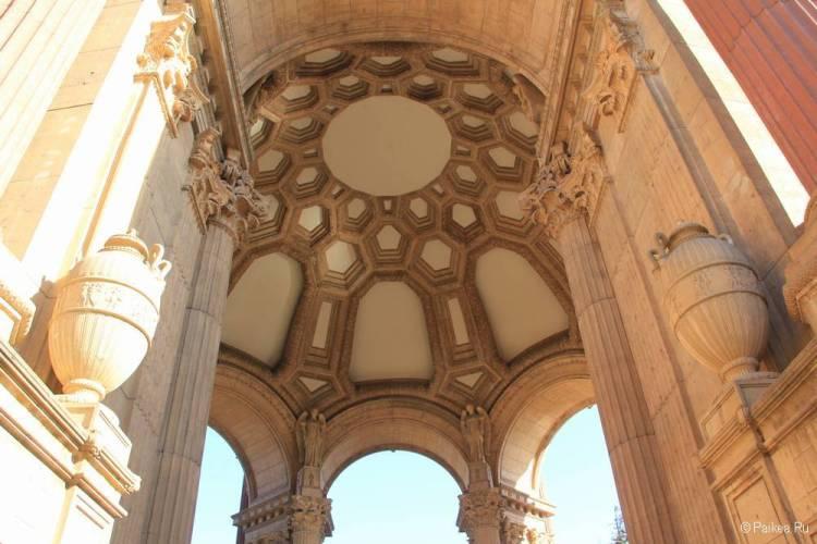 Дворец изящных искусств в Сан-Франциско 31