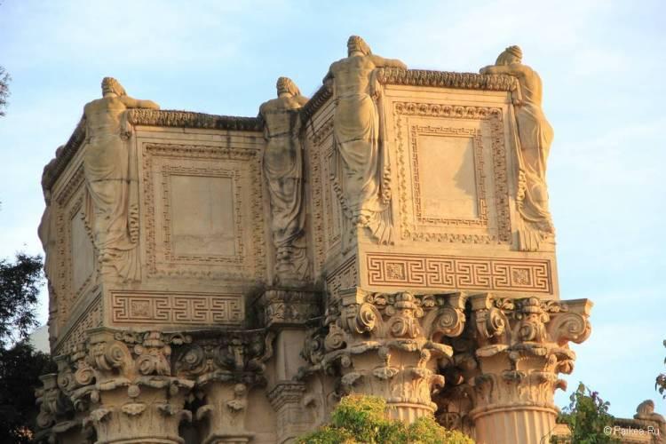 Дворец изящных искусств в Сан-Франциско 54