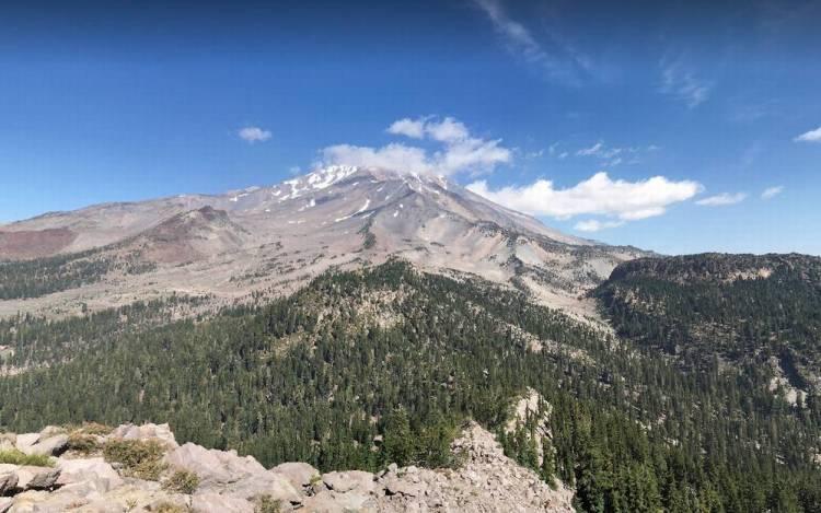 северная калифорния шаста