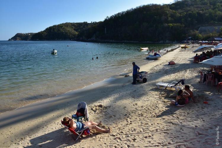 Городской пляж Санта-Крус