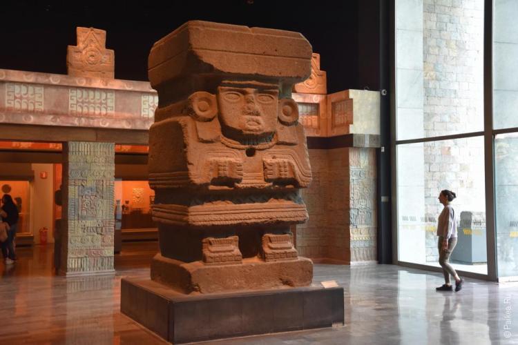 мехико музей антропологии 5