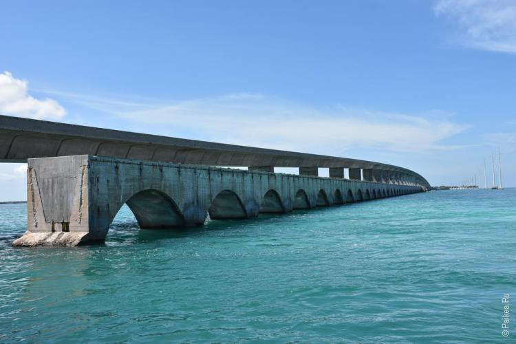 7-мильный мост (seven mile bridge) 9