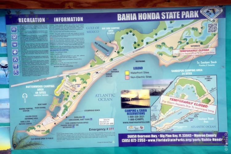 парк бахиа хонда / bahia honda state park 18