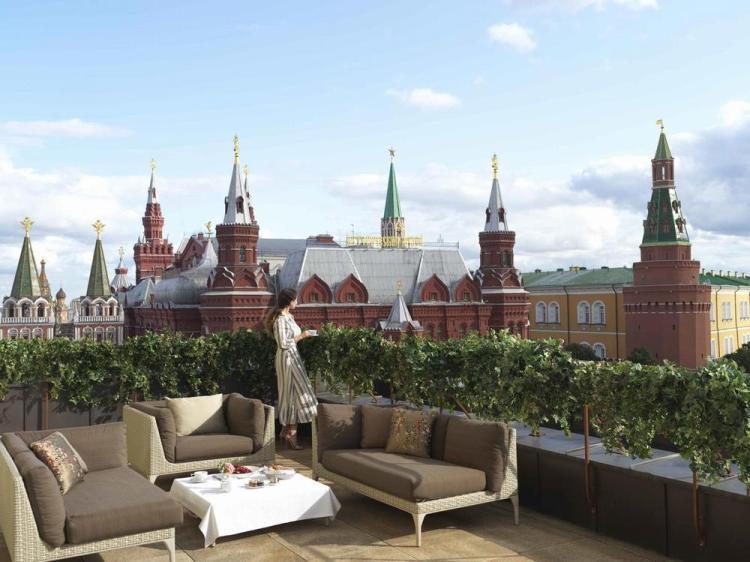 где остановиться в москве / гостиница four seasons 10