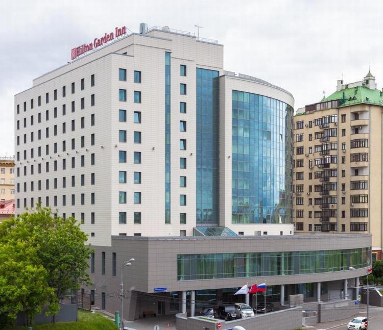 где остановиться в москве / гостиница хилтон гарден инн 3