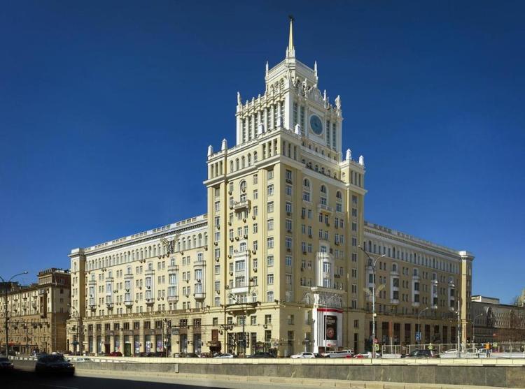 где остановиться в москве в центре / гостиница пекин