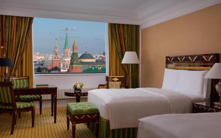 где остановиться в москве / гостиница ритц карлтон