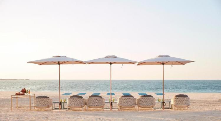 отели дубая с собственным пляжем / mandarin oriental