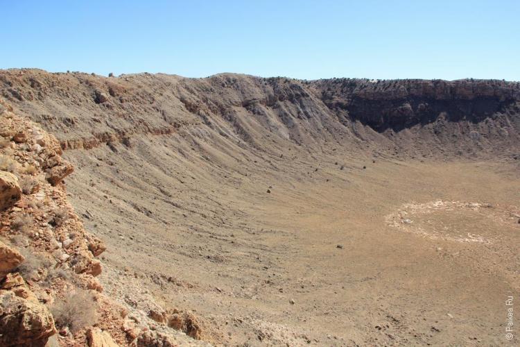 аризонский метеоритный кратер сша / meteor crater 51