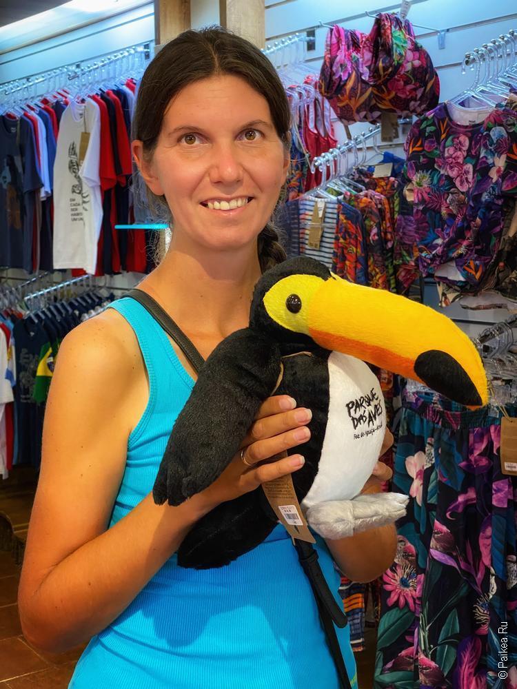 парк птиц фос-ду-игуасу бразилия / parque das aves 32